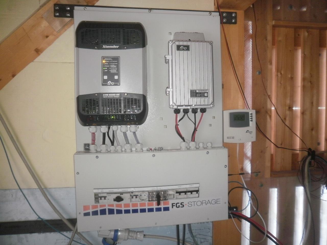 Baita Fotovoltaico in isola 4kW