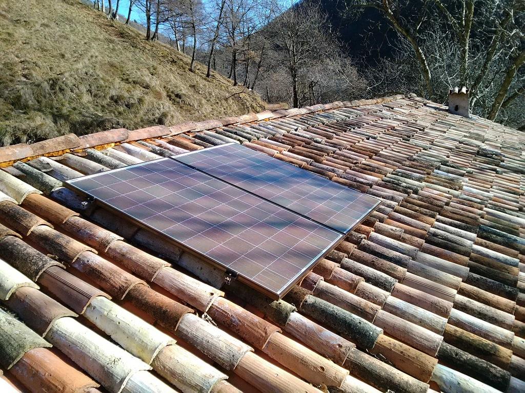 Malga Prato della Noce - Fotovoltaico in isola