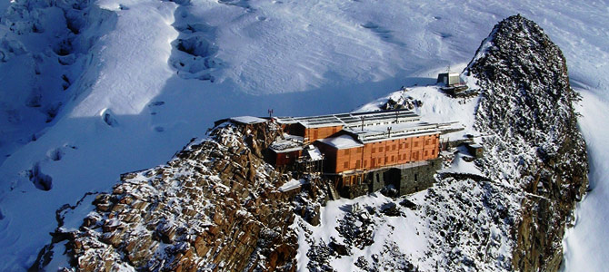 Rifugio Monte Rosa - Fotovoltaico